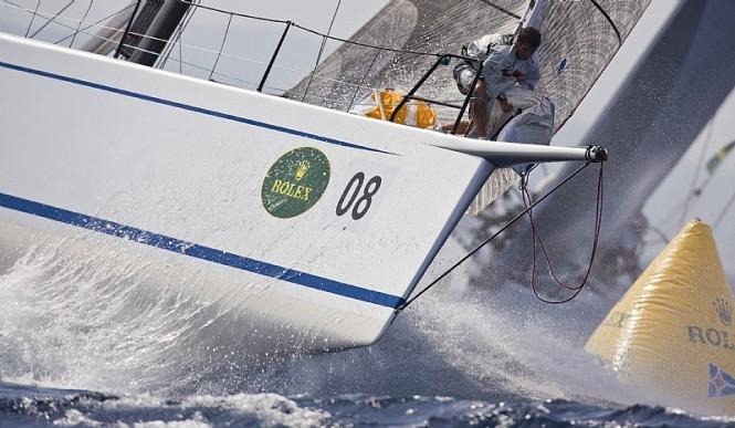 Sailing yacht ALEGRE, Andres Soriano - Photo credit Rolex  Carlo Borlenghi