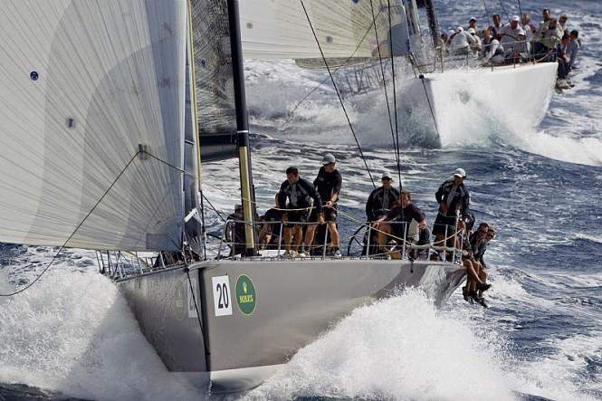 Sailing yacht RAN, Niklas Zennstrom - Photo credit Rolex  Carlo Borlenghi
