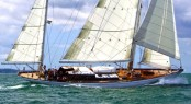 Sailing yacht Sea Lion rebuilt at Southampton Yacht Services