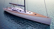 Sailing yacht Sleighride to be refitted to an Adam Voorhees Design - Bow View