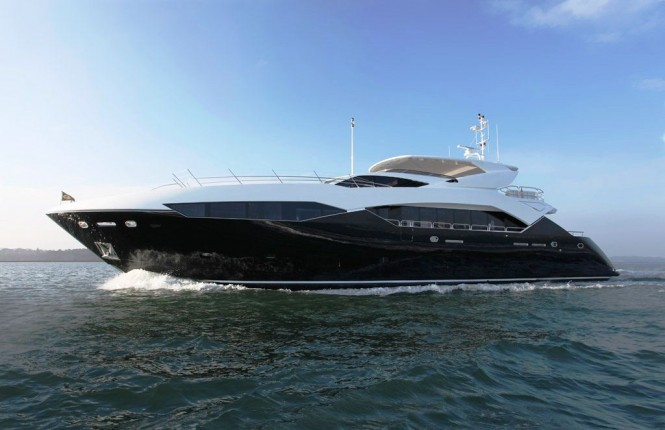 Second Predator 115 motor yacht Never Say Never delivered by Sunseeker - Credit Sunseeker Yachts