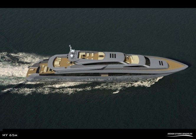 Stunning 65m motor yacht by Design Studio Spadolini for Rossi Navi