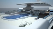 Superyacht Touch 60 by Newcruise - Pool View