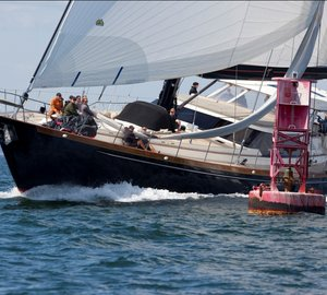 Superyacht fleet arriving for 2011 Shipyard Cup