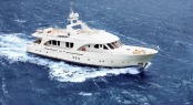 The fourth Moonen 97 motor yacht