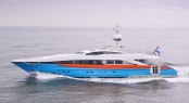 The sports car inspired unique motor yacht Aurelia by Heesen Yachts - Photo credit to Jose Martinez Mendez