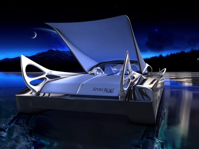 Thierry Mugler Studio redesigns the Spire Boat