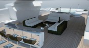 Touch 60 yacht concept by Newcruise - Sundeck view