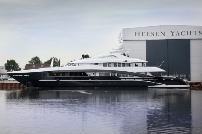 Yacht YN 15850 by Heesen Yachts launched in 2011 Photo credit to Emilio Bianchi