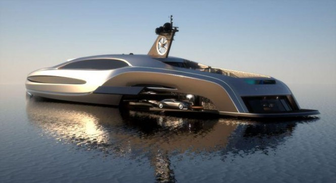 100m Motor yacht Sovereign Custom Limo by Gray Design