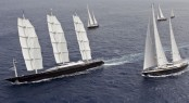 2011 Perini Navi Cup &acirc;Sailing Yacht Maltese Falcon Wins
