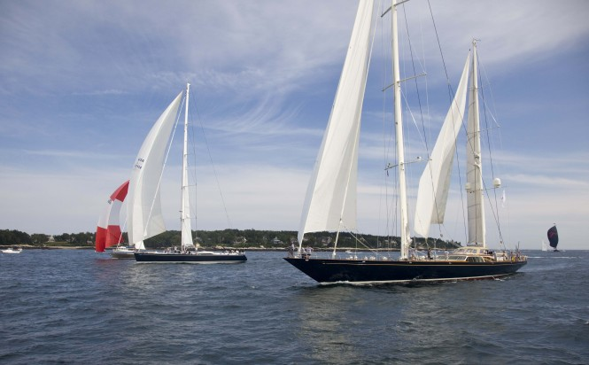 2011 Shipyard Cup: Sailing yacht Whisper Wins Overall - Photo by Billy Black