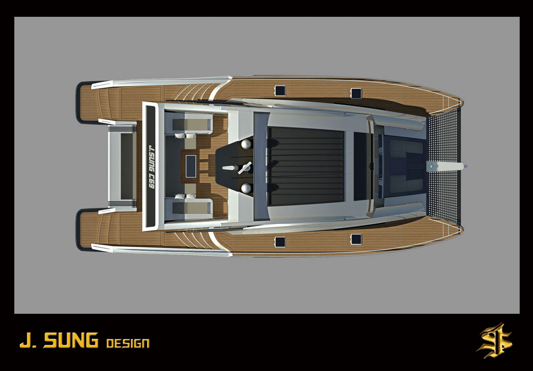 Jng c69 power catamaran motor yacht by j ng design studio jng c69 power catamaran motor yacht by j ng design studio sciox Image collections