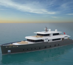 42.5m Kingship superyacht ESSENCE - Full details unveiled at the MYS last week