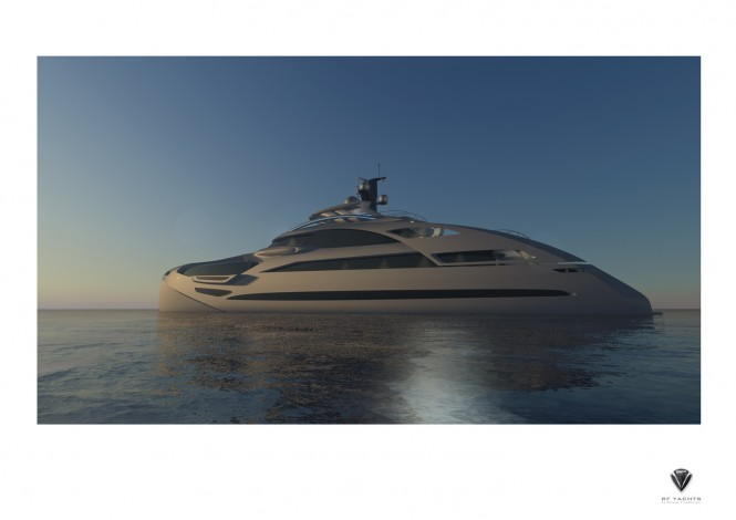 50m Motor Yacht Proxima designed by Roland Friedberger