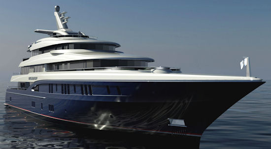 60m Motor Yacht Excellence V launched by Abeking & Rasmussen