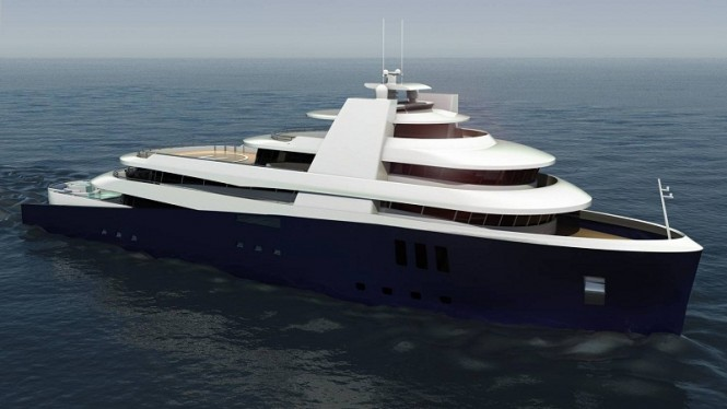 75m Motor yacht Arctic Whale by Kingship Marine