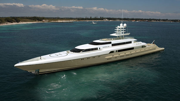 77m Motor Yacht Smeralda by Hanseatic Marine and Espen Oeino  3rd superyacht in Silver Series
