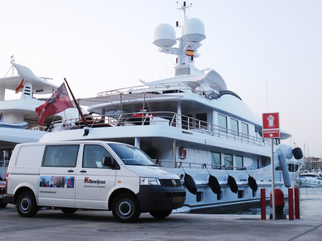 Alewijnse showcases energy efficiency for superyachts at the Monaco yacht Show
