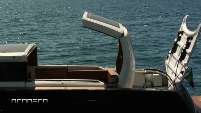 Alex Pirard Yacht Design - Oronero tender - detail