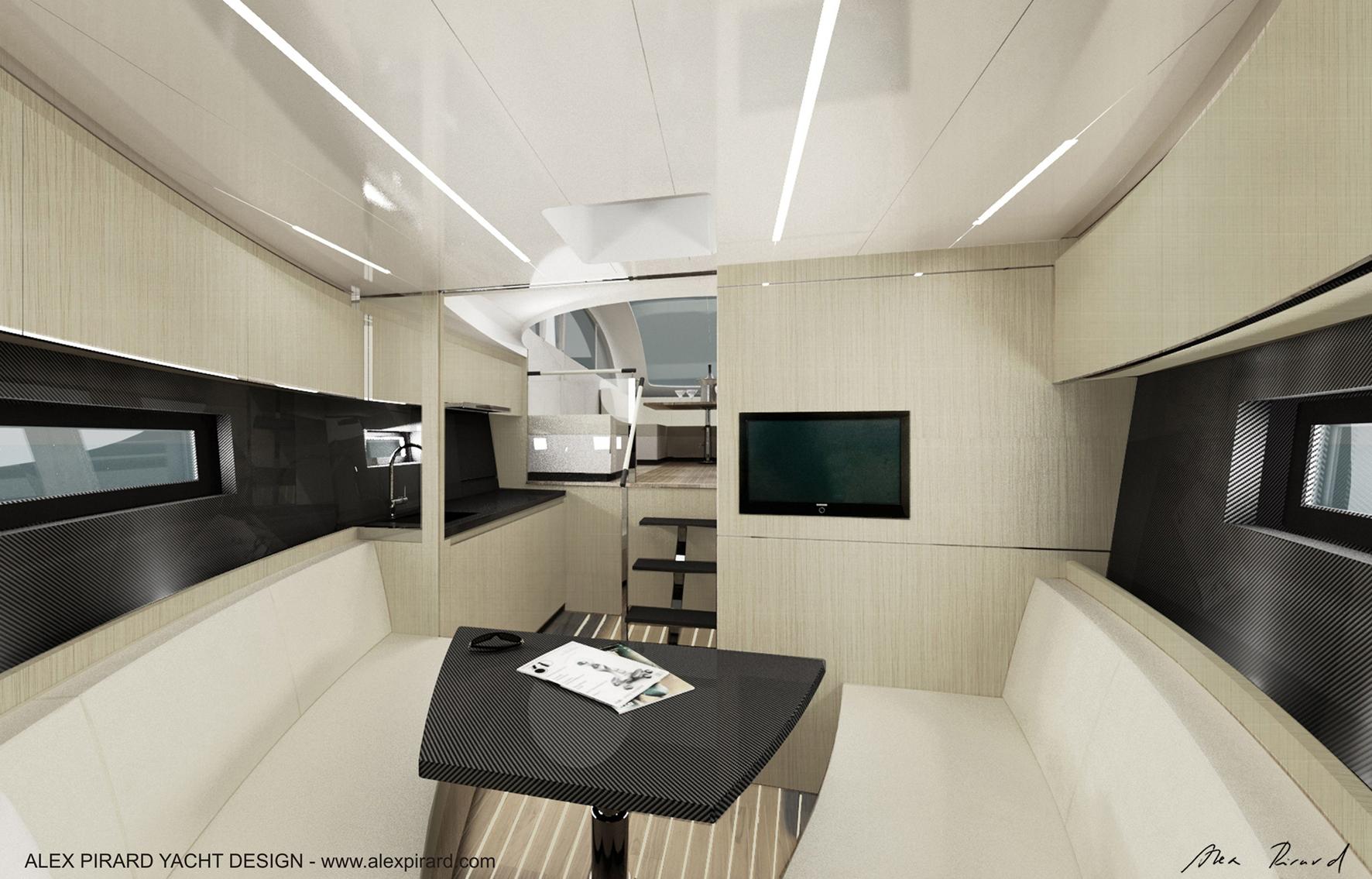 Alex Pirard Yacht Design Oronero Yacht Interior Yacht Charter Superyacht News