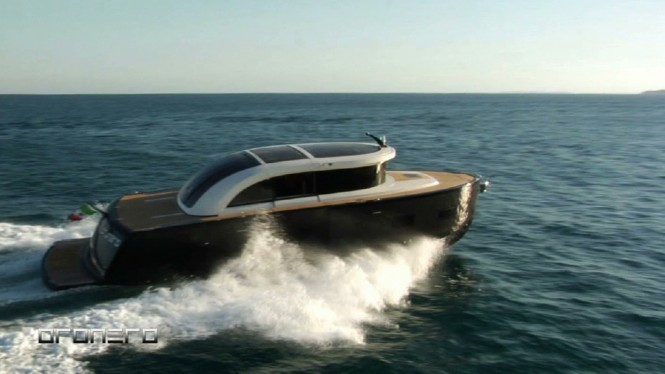 Alex Pirard Yacht Design - Oronero yacht tender