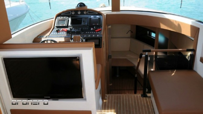 Alex Pirard Yacht Design - Oronero yacht tender interior