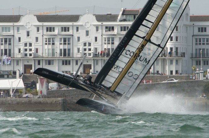 America's Cup AC World Series Plymouth – Day 2 an epic day of racing  © Ricardo Pinto