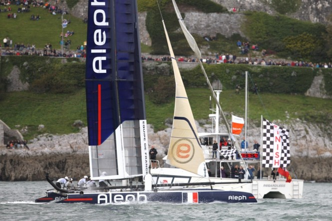 America's Cup World Series in Plymouth day 9 © 2011 ACEA Gilles Martin-Raget