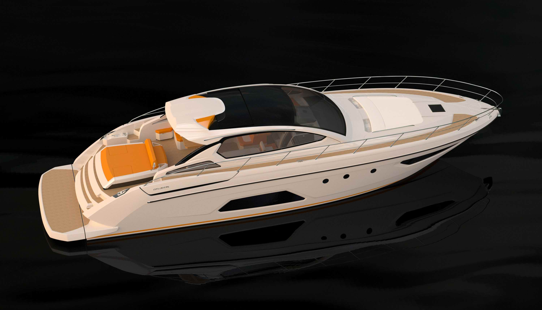 Atlantis 58 motor yacht, the new flagship of the Azimut-Benetti Group's open ...