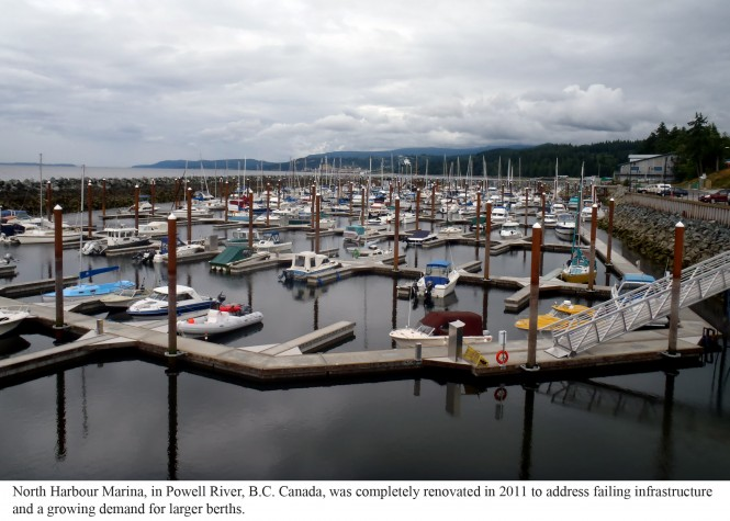 Bellingham Marine improves Canada's Powell River Marina – expand mooring space