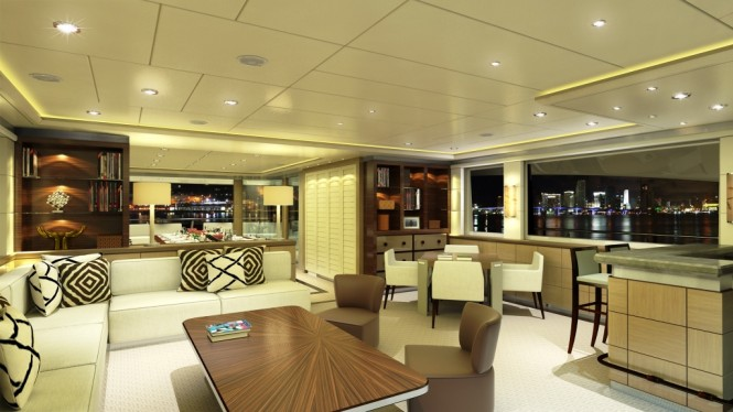 Catamaran Quaranta Salon