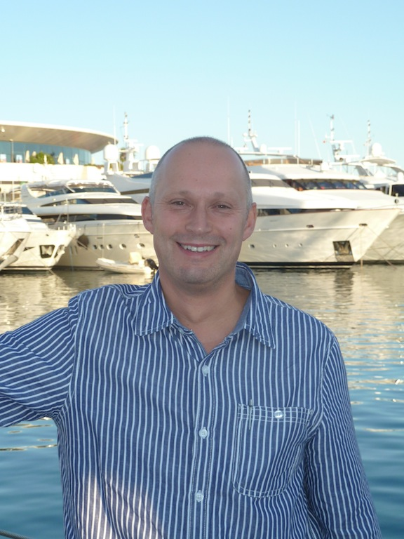 Chris Yellow a newly appointed Sales Manager Nordic for Mastervolt and Marinco
