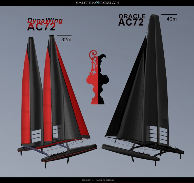 DynaWing AC72 Head to Head Match Race 34th America's Cup Challenger