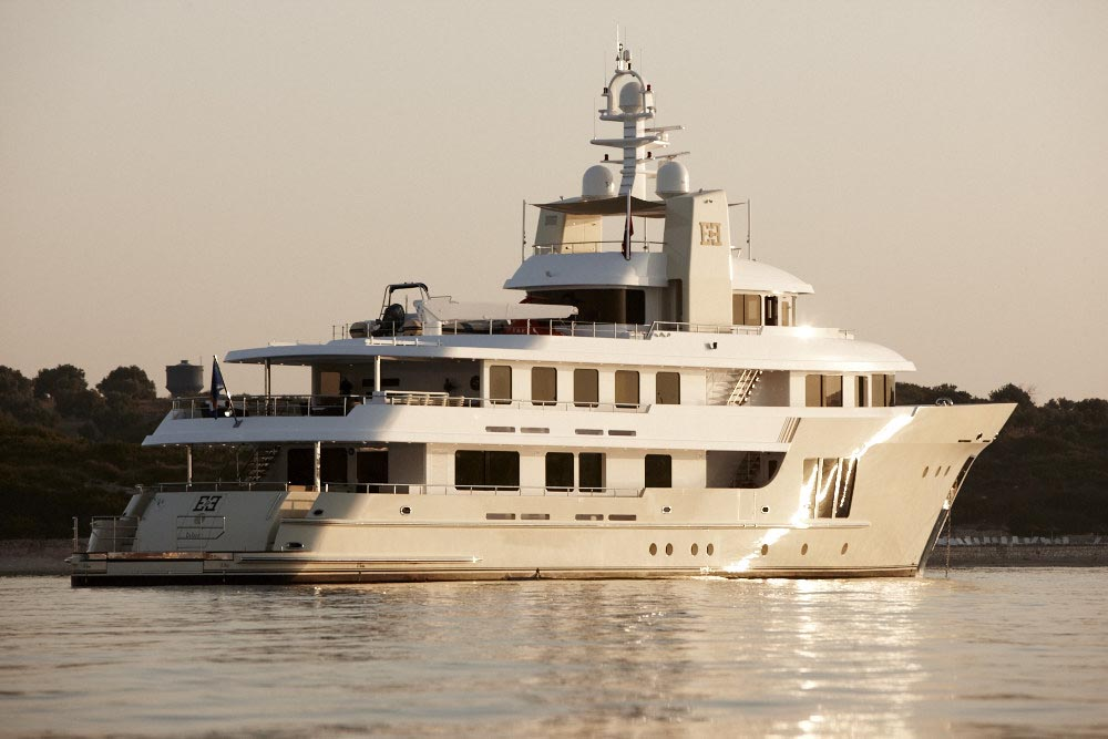 Expedition Motor Yacht E E By Cizgi Yachts Departs On