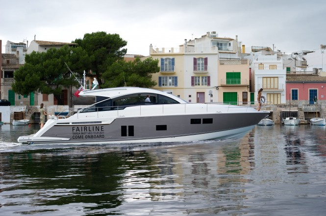 Fairline motor yacht Targa 58 GRAN TURISMO Med Tour