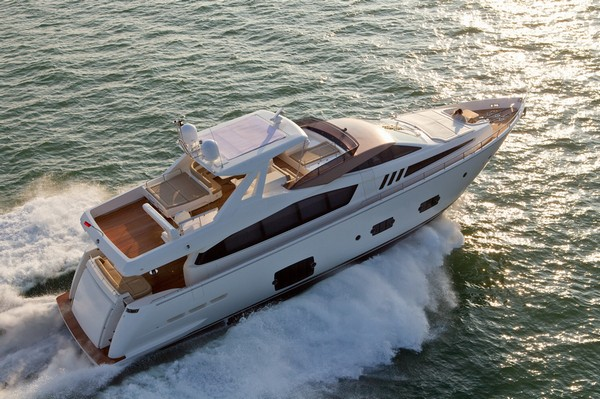 Ferretti 800 motor yacht