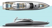 Hodgdon 40m Yacht concept by Michael Peters Yacht Design