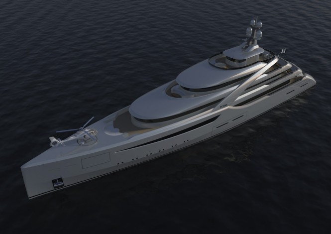 Icon 85M motor yacht Britannia by H2 Design