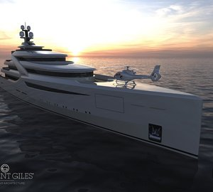 ICON 85M Britannia Superyacht by H2 to be presented at the MYS 2011