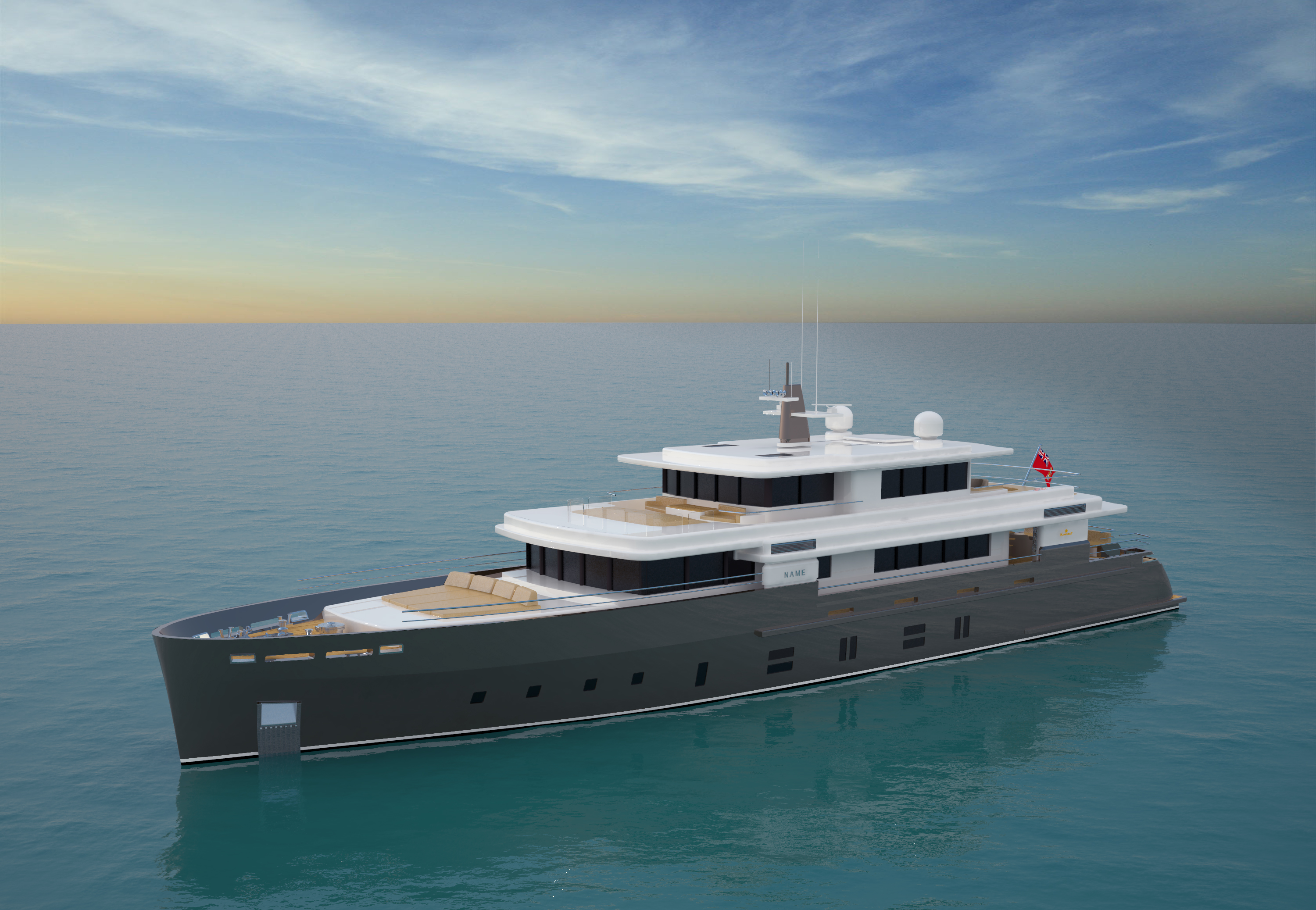 Kingship's new unprecedented 'Essence' Yacht design concept with completely ...