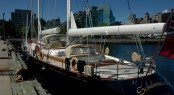 Luxury sailing yacht SCHEHERAZADE in Halifax, Nova Scotia &acirc; Photo Credit Brian William Hagell 