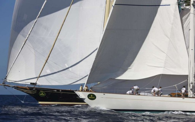Maxi Yacht Rolex Cup 2011. Credits Carlo Borlenghi / Rolex.