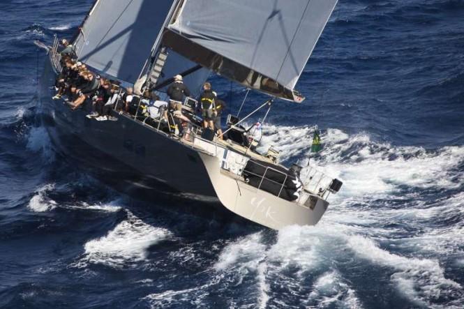 Maxi Yacht Rolex Cup 2011. Sailing yacht Y3K wins the Wally Class. Credits Carlo BorlenghiRolex.