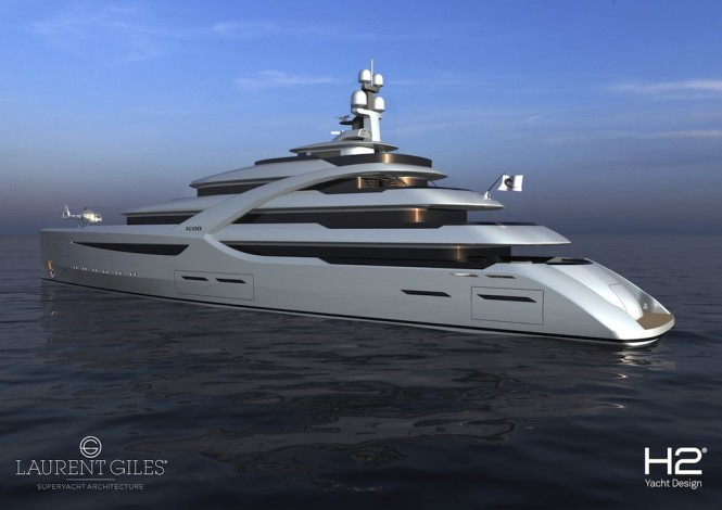 Motor Yacht Icon 85m Britannia by H2 Design