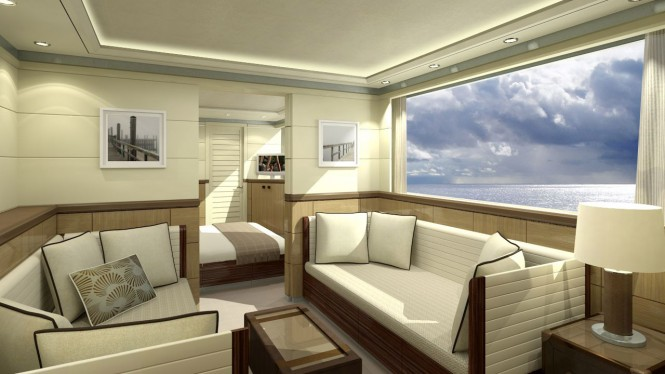 Motor yacht Quaranta Cabin