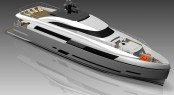 New Columbus 125� Hybrid motor yacht by Palumbo Shipyard sold to Russian Buyer