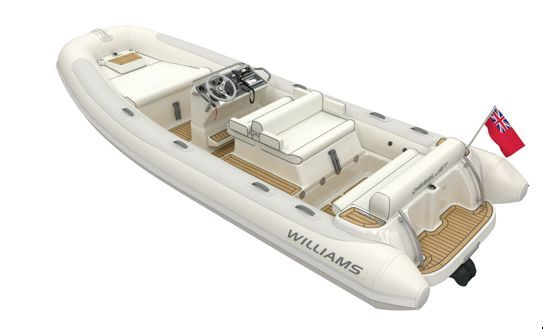 New Dieseljet 565 superyacht tender by Williams Performance Tenders