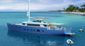 New Extreme 40m sailing yacht by Ginton Naval Architects and Guido de Groot built by Mengi Yay