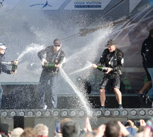 ORACLE Racing Spithill win AC Plymouth Fleet Racing Championship